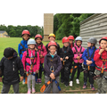 All kitted up ready to abseil