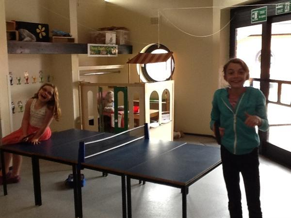 Break from our crafts for a bit of tennis!