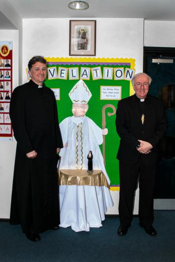 The Bishop and Fr John