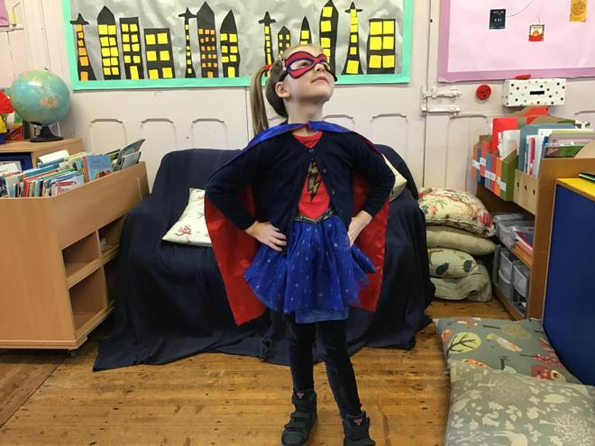 We are superhero learners in the Infant Class!