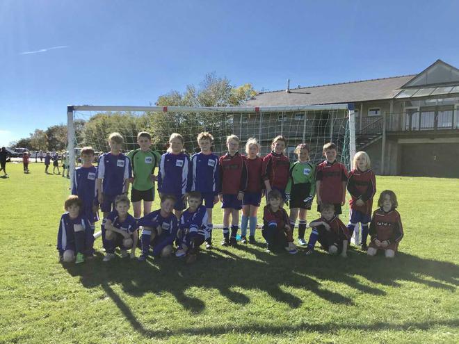 Stanton A and B football teams