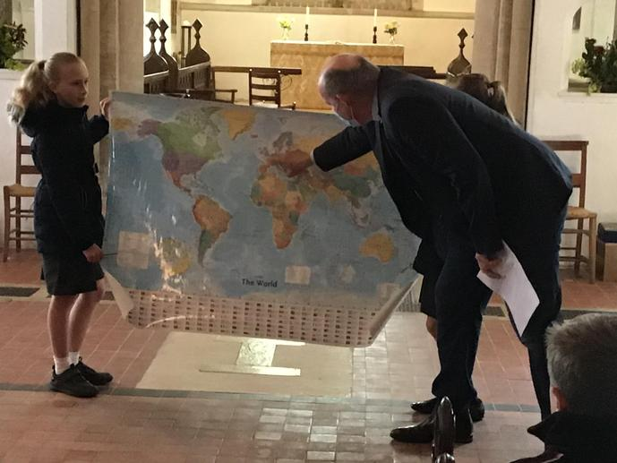 We found places in the world connected to St Andrew