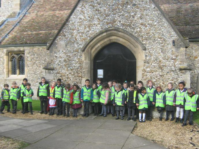 Year 1 exploring the human and physical characteristics of the village of Stapleford