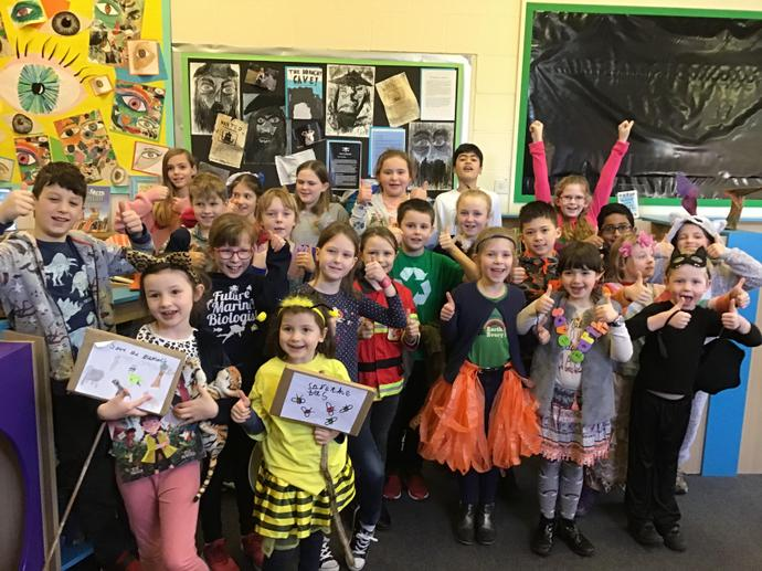 Some of the wonderful Eco costumes!