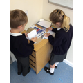 Writing to each other and creating signs