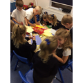 Creating posters and cards for our special people