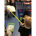 Experiment - which material makes the bell the quietest?