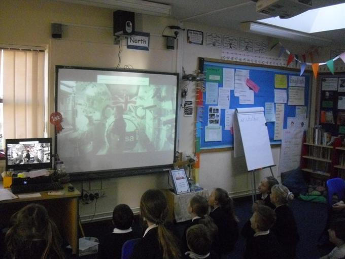 Watching Tim Peake live from the Space Station