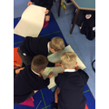 Working together to create a picture