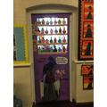 Look at Robin's fantastic 'book door'!