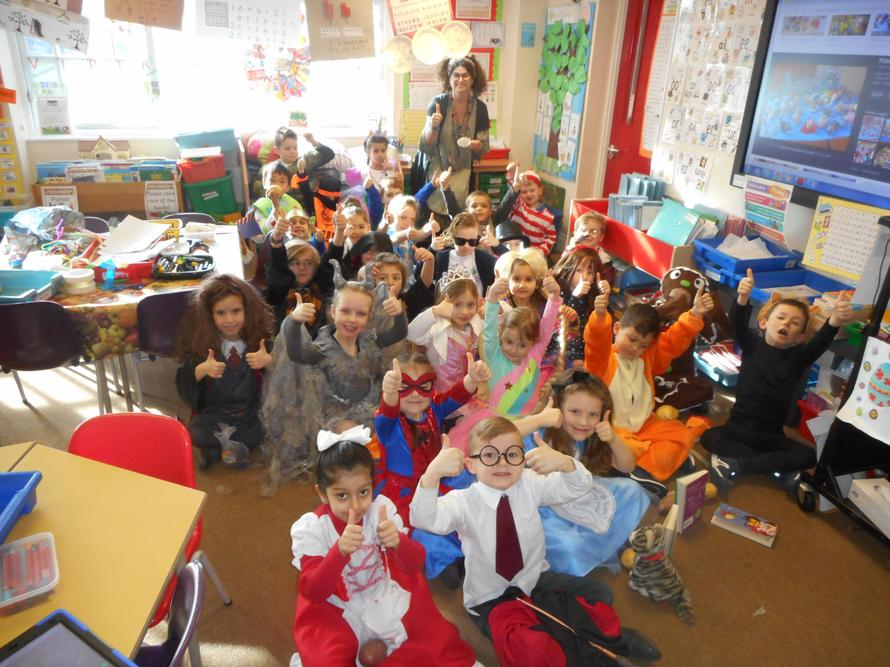 Everyone looked fantastic in their costumes!