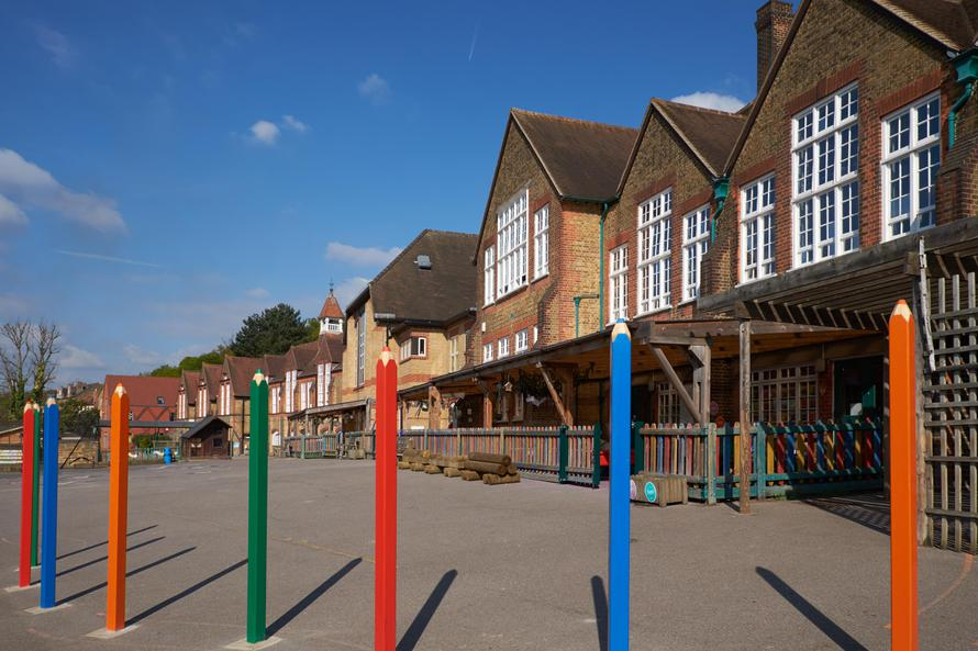 New EYFS/KS1 playground equipment funded by the PA