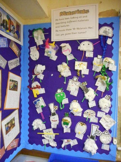 Our Mr Men/Little Miss material puppets