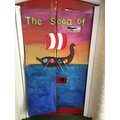 Look at Willow's fantastic 'book door'!
