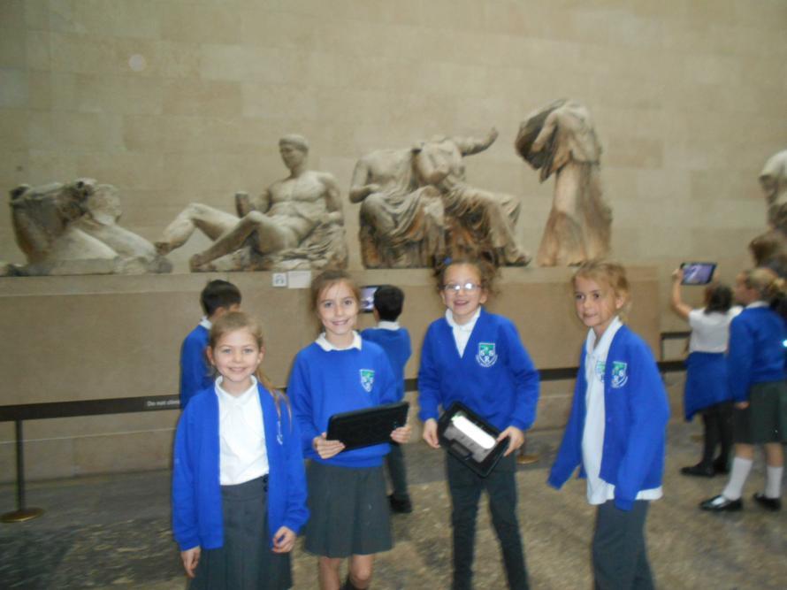 We enjoyed Athena's Gift at the British Museum