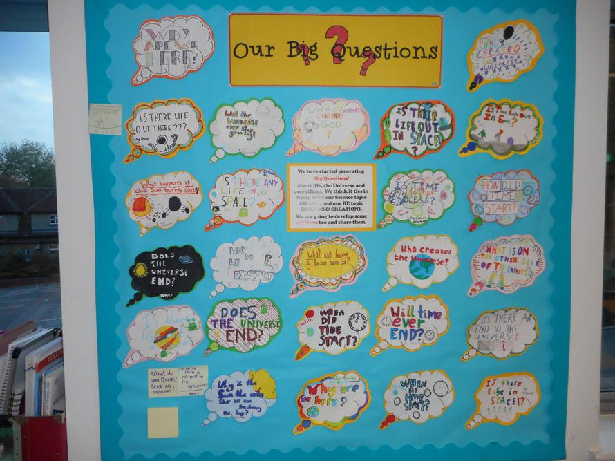 We discussed and asked some BIG questions!