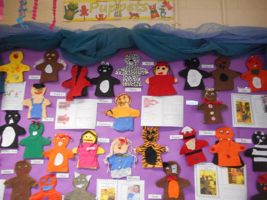 Our amazing puppets