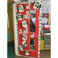 Look at Dragonfly's fantastic 'book door'!