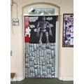 Look at Blackbird's fantastic 'book door'!