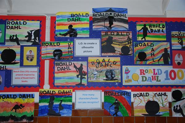 Juniors love Roald Dahl