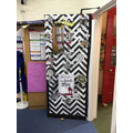 Look at Woodpecker's fantastic 'book door'!