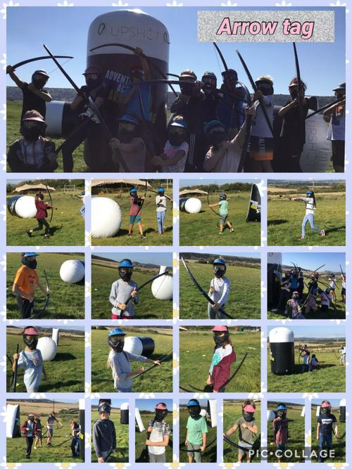We've been amazing arrow-tag archers!