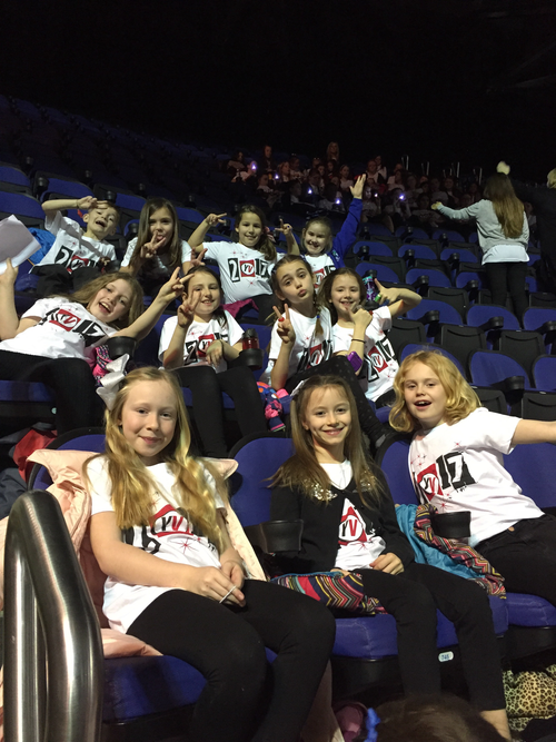Having fun at the O2