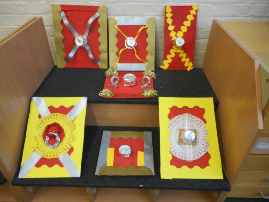 Creating our Roman shields