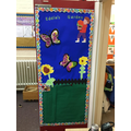 Look at Ladybird's fantastic 'book door'!