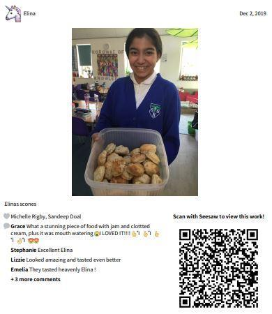 Great British Bake off - Elina's scones