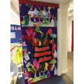 Look at Kingfisher's fantastic 'book door'!