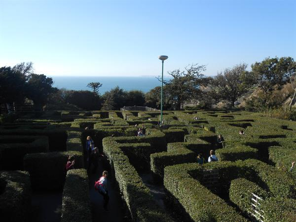 Lost in the maze at Blackgang Chine.jpg