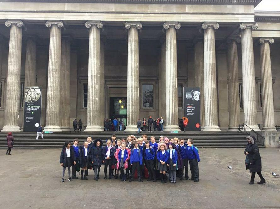 In November we visited the British Museum.
