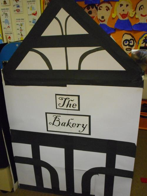 Our '1666 Bakery' role play area