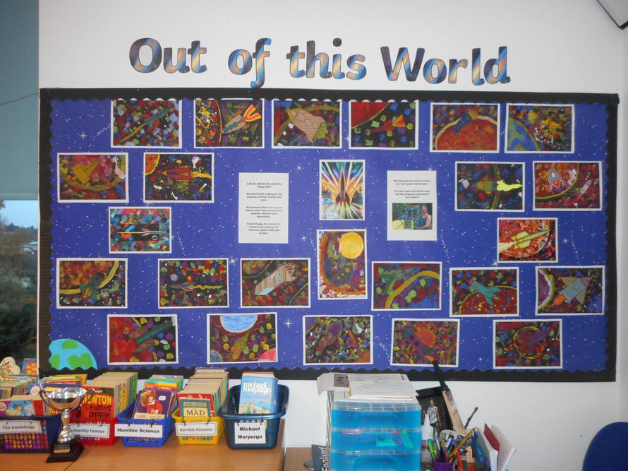 Our Peter Thorpe-style Space pictures were great!