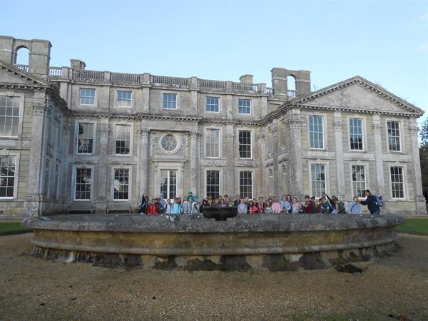 Palm Court children at Appuldurcombe House.jpg