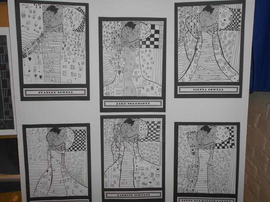 Klimt inspired work