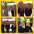 To celebrate the Queen's birthday we made our own crowns.