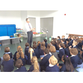 Year 2 had a workshop with Technology Tom