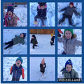We were very lucky to have fun in the snow when our topic was winter.