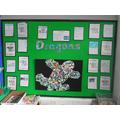 Year 1 Dragons and mosaics