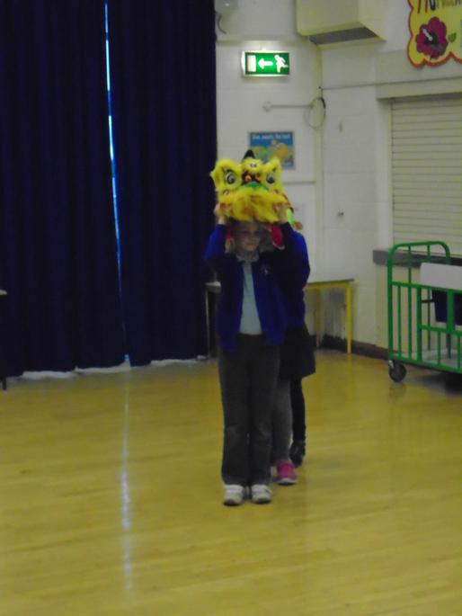 Choreographing our Chinese Lion Dances!