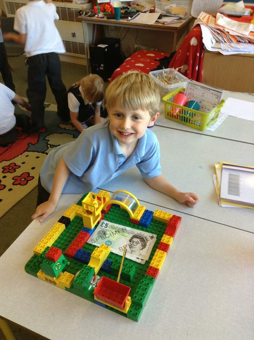 Money with lego - how much is that building?