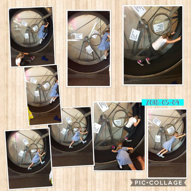 Applying our own forces in the the hamster wheel!