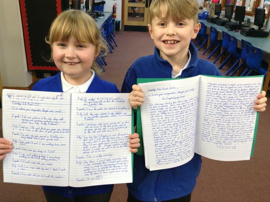 Fabulous free writing!