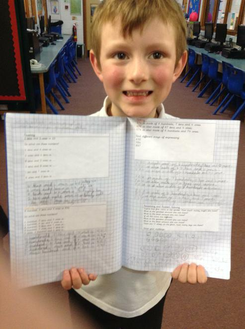 Splendid Maths work!