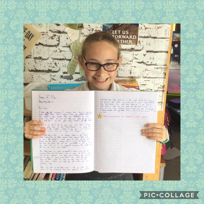 Lovely diary entry!