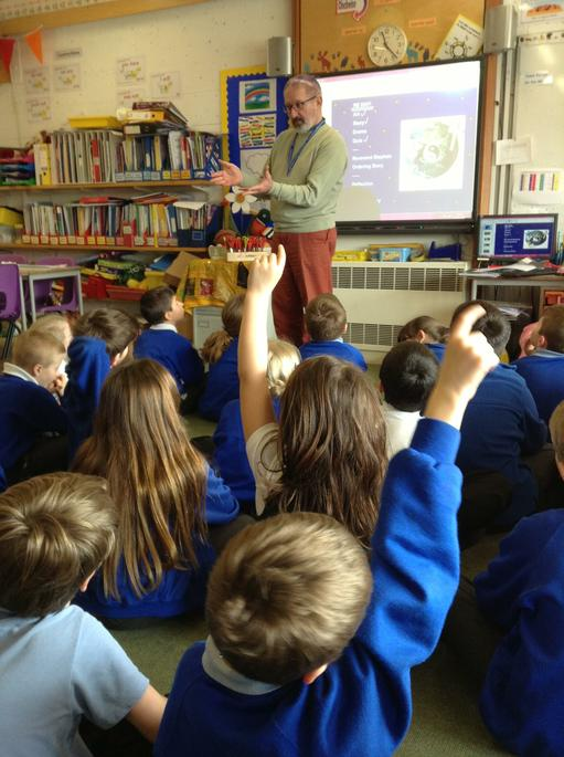 We had lots to ask Reverend Stephen about Easter