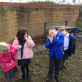 Children using the action for 'Early one morning'