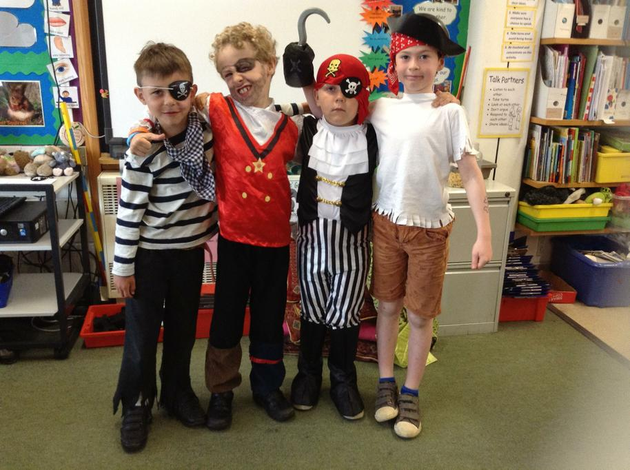 Pirate Day - Ooh aargh!